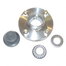 Trailer Hub Assembly (1 Inch Shaft / Taper Bearings)